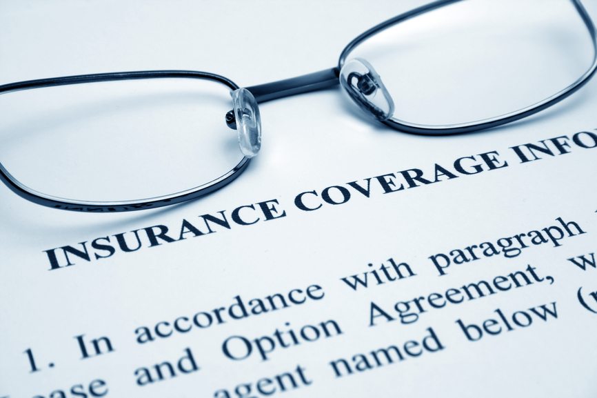 Picture of insurance coverage information