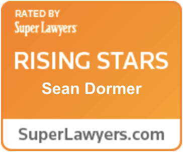 Rated by Super Lawyers Rising Stars Sean Dormer SuperLawyers.com