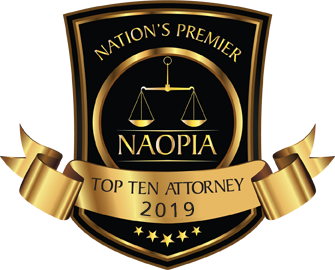 Logo for National Academy of Personal Injury Attorneys (NAOPIA)